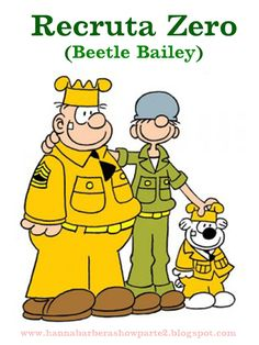 Beetle Bailey is a newspaper comic distributed by King Features Syndicate that started in by Mort Walker. Originally it was about some people Walker … Comics Und Cartoons, Old School Cartoons, Famous Cartoons, Classic Cartoon Characters, Favorite Cartoon Character, Classic Cartoons, Vintage Cartoons, Vintage Comics, Cartoon Cartoon