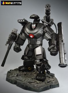 War Machine Battle Armor (Marvel Legends) Custom Action Figure by toymancustoms Base figure: HULK When Stark is away this is how Hulk and War Machine will play. Iron Man Suit, Iron Man Armor, Marvel Vs, Marvel Heroes, Hulk Buster, Marvel Statues, Nerd, Ex Machina, Custom Action Figures