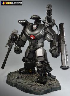 War Machine Battle Armor (Marvel Legends) Custom Action Figure
