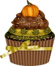 Thanksgiving Cake Clip Art : 1000+ images about Cupcake art on Pinterest Cupcake art ...