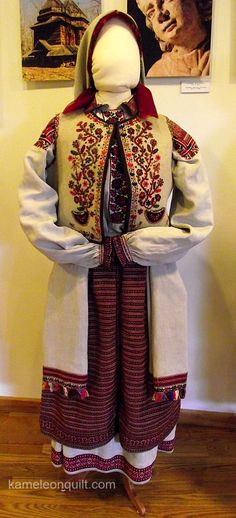 Ukrainian Folk Costumes from The Lviv National Museum Of Ukrainian Art
