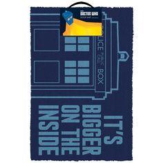 Tardis - Wycieraczka - Doctor Who