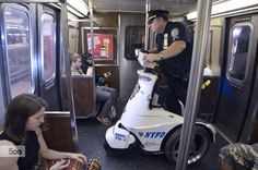 Photograph Police Segways on Subways by Huang Menders Photography on 500px