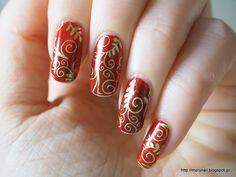 Moru's nails: クリスマスネイル 2014