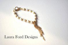Little Guardian Angel Bracelet by LauraFordDesigns on Etsy, $25.00