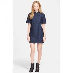 Marc by Marc Jacobs - Denim Tunic Dress Mandarin Deep Indigo - $214.80 (40% off)