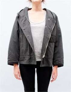 Isabel Marant Alan Coat- Anthracite