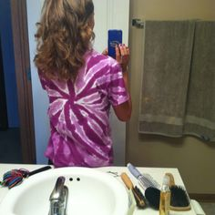 Sock bun curled hair with no heat!