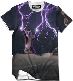 Lightning Cat Men's Tee