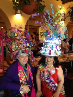 Hat King Cal Sumer and me ! Fiesta Hat party 2014