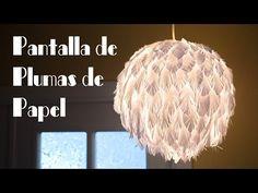 Pantalla de Plumas de Papel Muy Facil y Elegante - YouTube