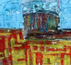 PAUL WESTAWAY, New, CORNISH TIN MINE, UP TOP Painting
