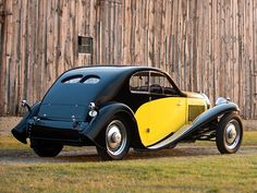 Belos Automóveis Antigos by Daniel Alho / 1930 Bugatti Type 46 Superprofile Coupe