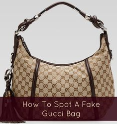 How to spot a fake Gucci handbag