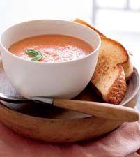 Recipe: 10-Minute Creamy Tomato-Basil Soup (blender or food processor) - Recipelink.com