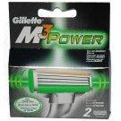 Gillette M3 Power scheermesjes 2 stuks
