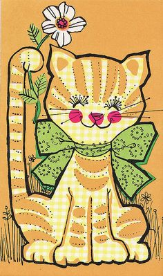 1970s Kitty by Calsidyrose, via Flickr