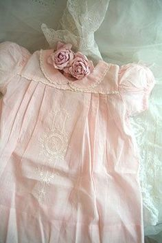 My mother saved one of my baby dresses like this & I still own it 58 years later.