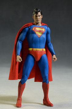 Christopher Reeve Superman 7 inch action figure by NECA