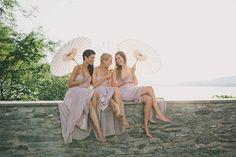 Lakeside Wedding at Castle Maria Loretto  Read more - http://www.stylemepretty.com/2014/03/07/lakeside-wedding-at-castle-maria-loretto/