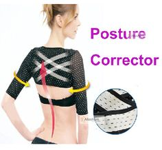 high quality women Shoulder posture corrector support brace belt for the back Simulator thin hand Massage cuff orthotics Strap