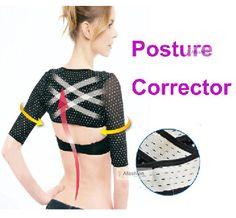 high quality women Shoulder posture corrector support brace belt for the back Simulator thin hand Massage cuff orthotics Strap