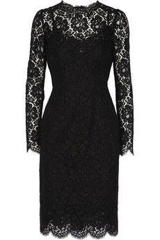 Dolce & Gabbana Lace dress | NET-A-PORTER