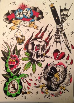 Traditional flash sheet #1