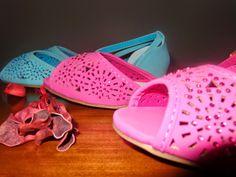 Papa Saldos com Gosto  : *11 Sabrinas abertas Rosa/Azul turquesa T37 - 8,50... Keds, Sneakers, Shoes, Fashion, Pink, Turquoise, Blue, Tennis Sneakers, Slippers