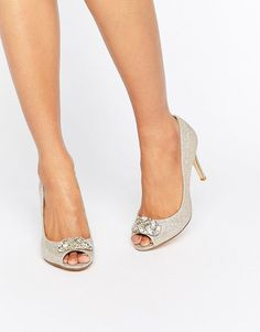 Dune Bridal Dolley Embellished Pumps