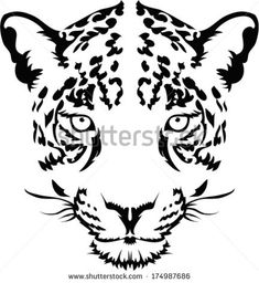 http://thumb9.shutterstock.com/display_pic_with_logo/927010/174987686/stock-vector-leopard-face-tattoo-vector-174987686.jpg