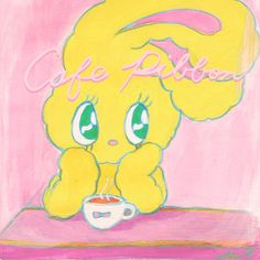 if I had my own cafe~. who wants to make a cafe together? hehehe #estherlovesyou #estherbunnies www.estherlovesyou.net