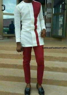 Worry no more my man! Because we've got the most Stylish Wedding Suit Styles For Nigerian Men which you could choose from the best naija men wedding suits styles of African Wear Styles For Men, African Shirts For Men, African Dresses Men, African Attire For Men, African Clothing For Men, African Men Style, African Women, Nigerian Men Fashion, African Men Fashion