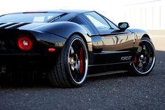 Ford GT black on black