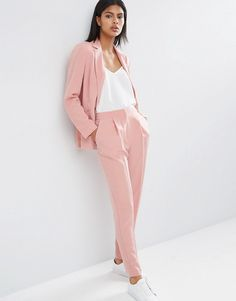 Image 4 of ASOS Soft Lux Longerline Occasion Blazer