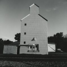 Frank Gohlke. Grain Elevators, Bay City, Wisconsin, 1973. Gelatin silver print.