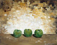 Still Life Apples by Corissa Nelson