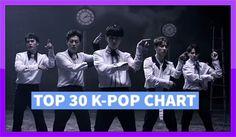 TOP 30 K-POP SONGS CHART! JULY 2016 (WEEK 2)
