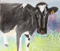 Watercolours, Moose Art, Animals, Animales, Animaux, Animal, Animais