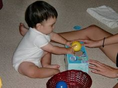 Great ideas.  15 Independent Activities for One Year Olds - Imperfect Homemaker