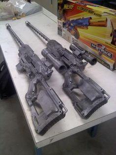 Fallout 3 sniper riffle nerf gun replica