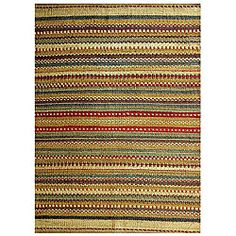 @Overstock - Complement your home decor with a hand-woven jute rug Floor rug features a contemporary design Area rug is crafted from 100-percent jutehttp://www.overstock.com/Home-Garden/Hand-woven-Mohwak-Jute-Rug-8-x-106/3679668/product.html?CID=214117 $224.99