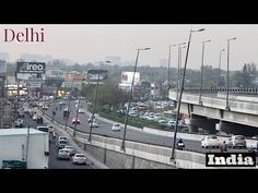 Delhi traffic (Indian traffic without a chaos) - YouTube Delhi Traffic, New Delhi, India Travel