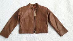 gorgeous leather jacket  size 1. by myfirstleatherjacket on Etsy, $99.00