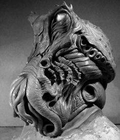 "Cthulhu bust - a terrific interpretation that avoids some of the more traditional approaches while retaining the definitive ""Chthulu-ness""."