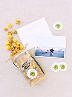 Popcorn Wedding Favors | photography by @melissajill http://www.melissajill.com/