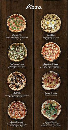 Gino's Brick Oven Pizza Brick Oven Pizza, Pizza Oven Outdoor, Oven Recipes, Pizza Recipes, Salmon Recipes, Deco Pizzeria, Pizzeria Menu, Resto Vegan, Pizza Menu Design