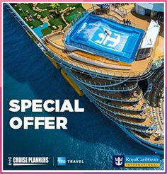 Royal Caribbean's WOW sale is back and it's bigger than ever. It's for a limited time only so contact me now for details.