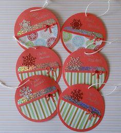 Round Christmas cards