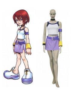 Kingdom Hearts 1 Kairi Halloween Costumes Cosplay